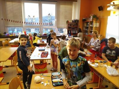 Fotogalerie Vánoční tvoření na 1. stupni, foto č. 65