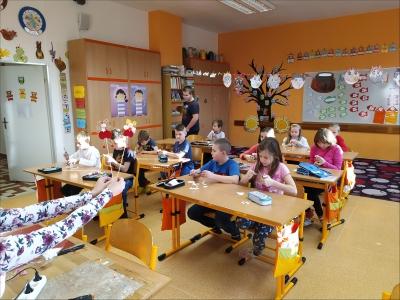 Fotogalerie Vánoční tvoření na 1. stupni, foto č. 48