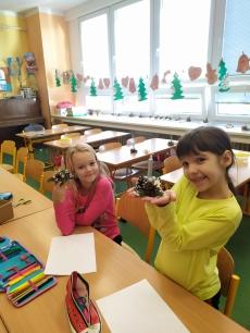 Fotogalerie Vánoční tvoření na 1. stupni, foto č. 19