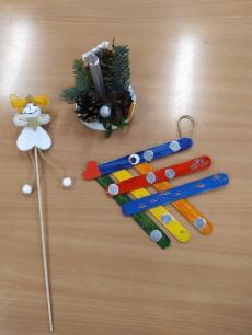 Fotogalerie Vánoční tvoření na 1. stupni, foto č. 2