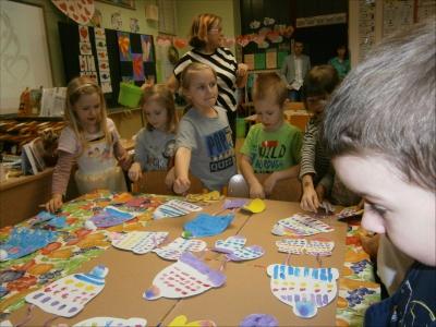 Fotogalerie Výtvarná hodina s předškolními dětmi 13. 2. 2020, foto č. 4
